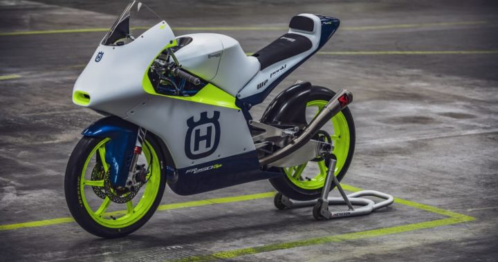 Husqvarna heads back to the Moto3 grid with the Max Racing Team