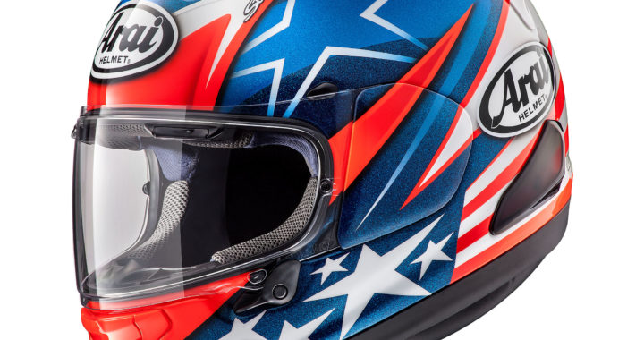 New Ish Holiday Gift Guide – Arai's Nicky 7 Corsair-X Helmet