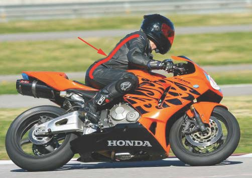 Improve Your Motorcycle Skills: The Midsection Connection track riding racing