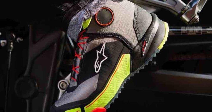 NEW ISH – Alpinestars' CR-X DRYSTAR Riding Shoe