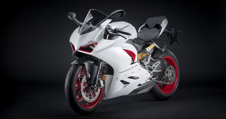Ducati's Panigale V2, now in White Rosso