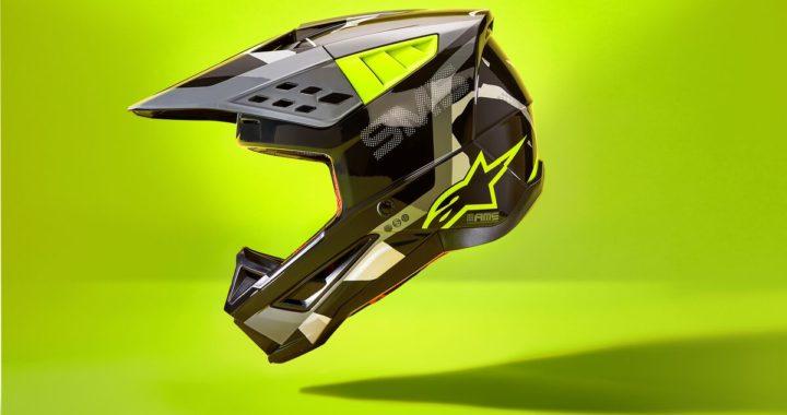 NEW ISH – Alpinestars SM5 MX Helmet