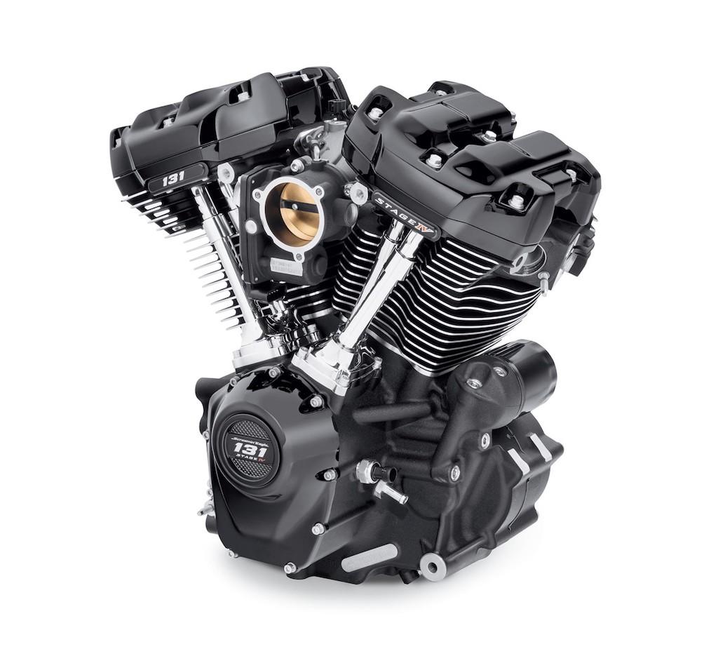 Harley Davidson 131 oil cooled black gloss black Screamin eagle