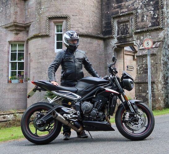 featured rider sportbikes triumph motorcycle street triple