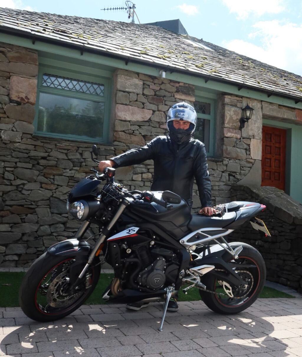 featured rider sportbikes triumph motorcycles street triple
