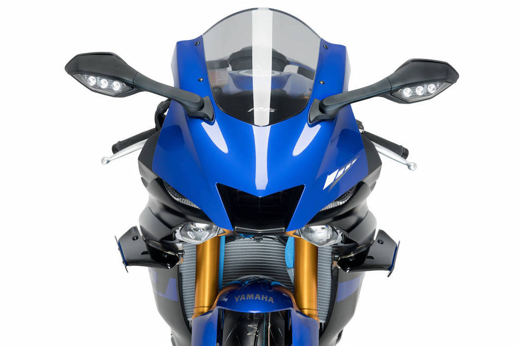Puig 2020 Yamaha YZF-R6 Sport Spoilers front