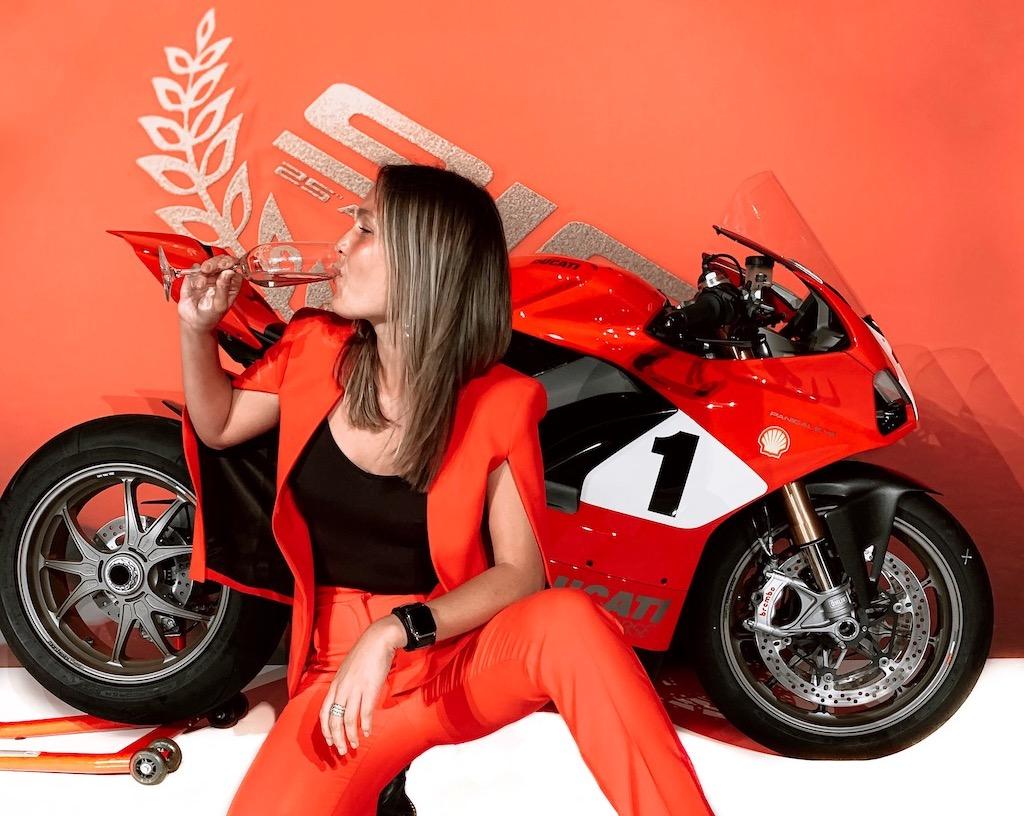 Devy Ducati Carl Fogarty V4