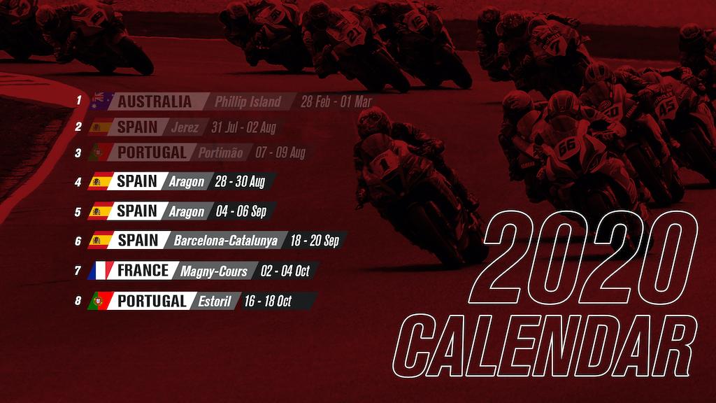 WorldSBK 2020 Calendar