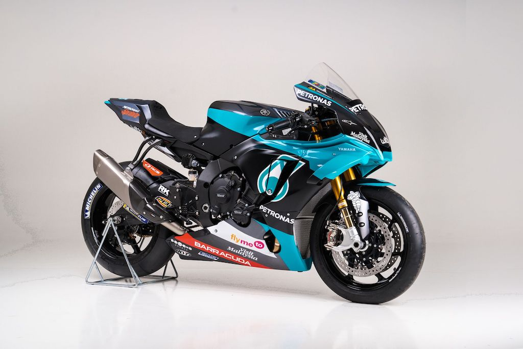 PETRONAS Yamaha Sepang Racing Team Replica 2020 YZF-R1