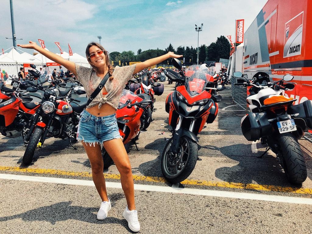 Devy Ducati World Ducati Week