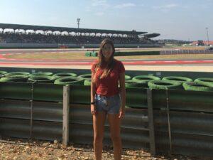 Devy Ducati trackside