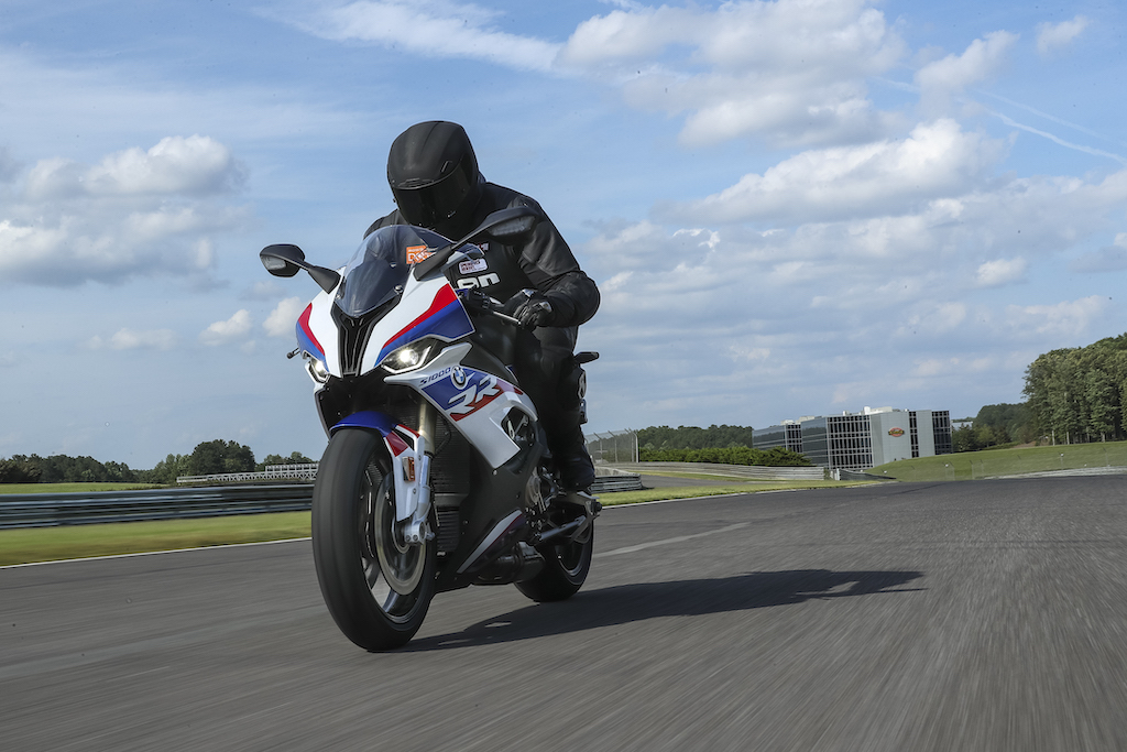 improve your motorcycle skills with vision bmw s1000rr
