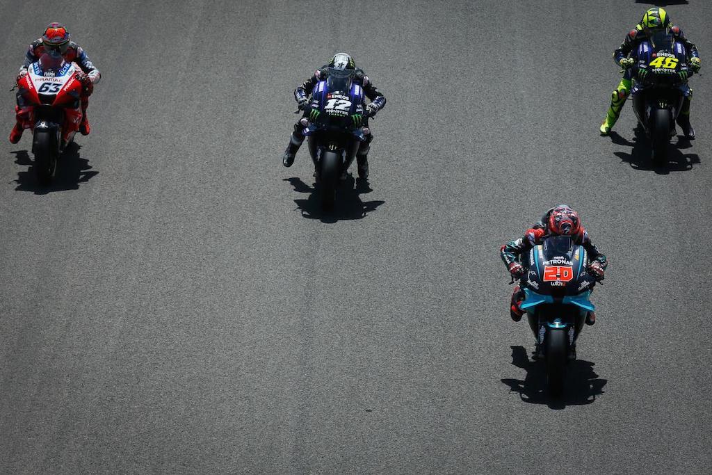 maverick Vinales Fabio quartararo Valentino Rossi Francesco bagnaia MotoGP