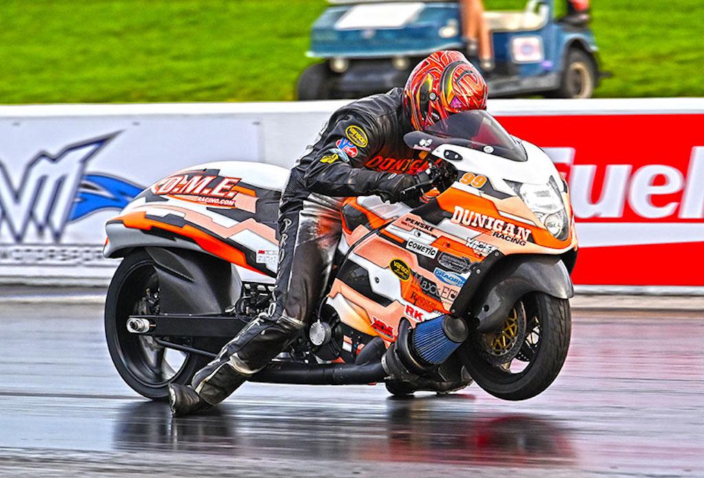 XDA Jason Dunigan motorcycle drag racer