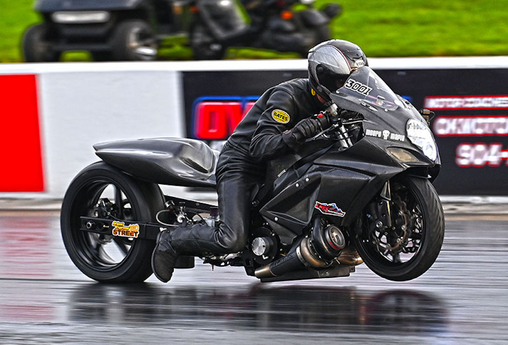 XDA Chris Moore motorcycle drag racer
