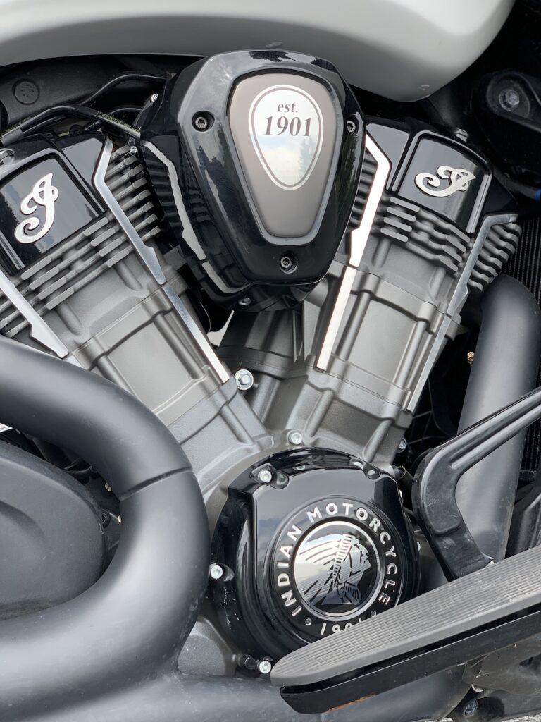 Indian Motorcycle Challenger Dark Horse Engine