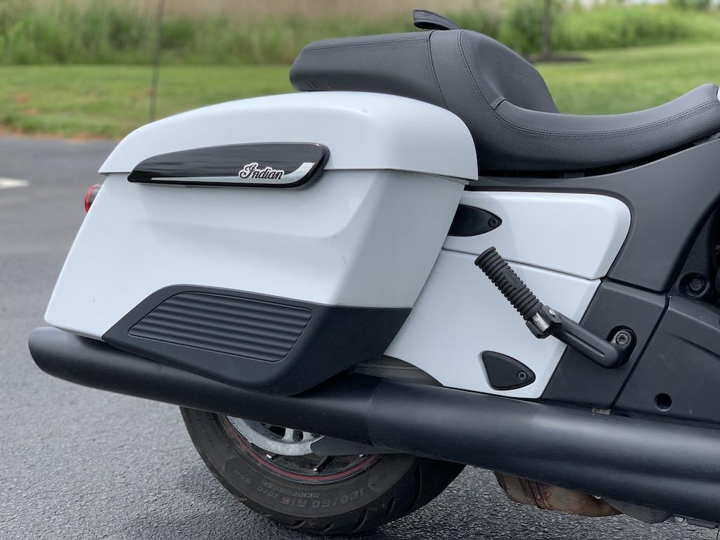 Indian Motorcycle Challenger Dark Horse hard saddlebags