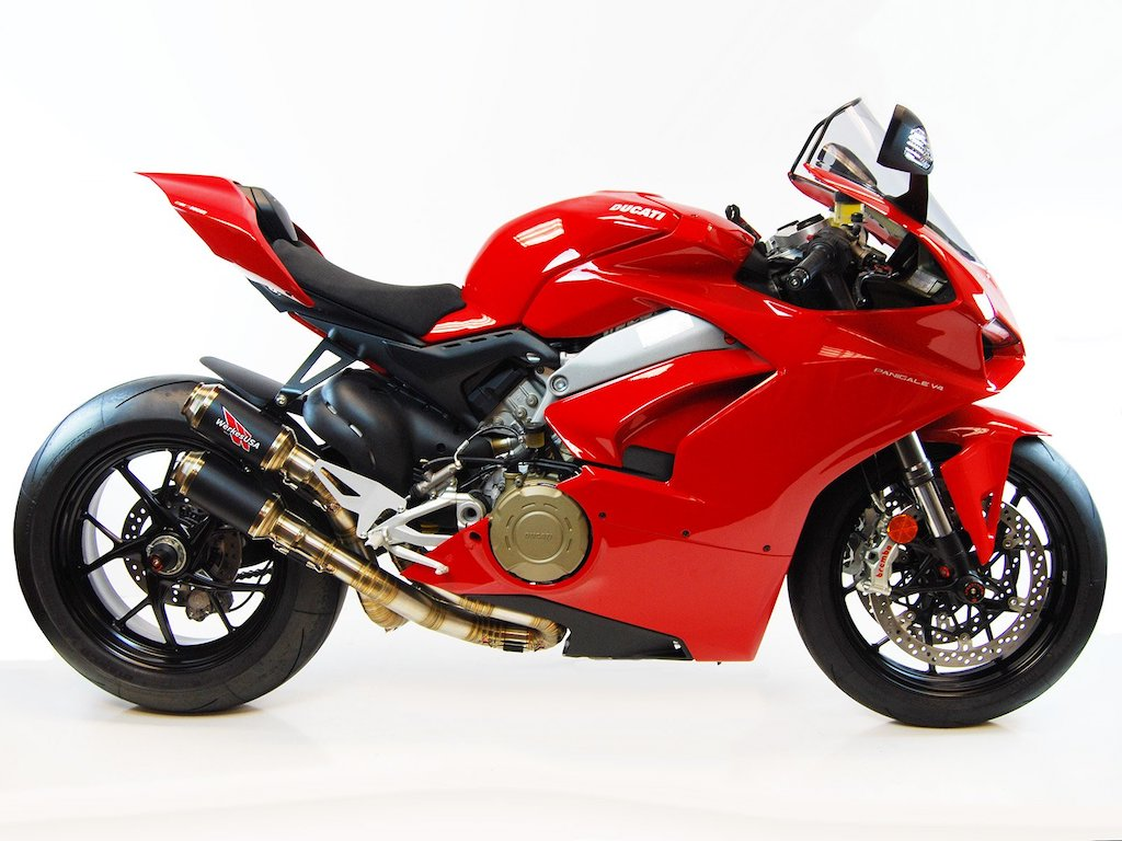 Competition Werkes Ducati Panigale V4 Slip On Exhaust