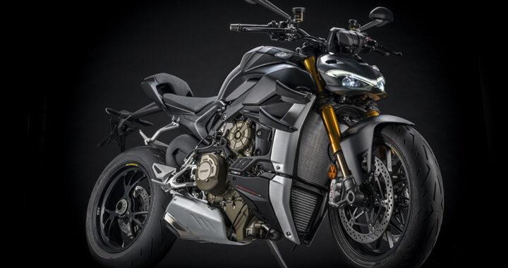 Ducati's Streetfighter V4 S goes dark for 2021