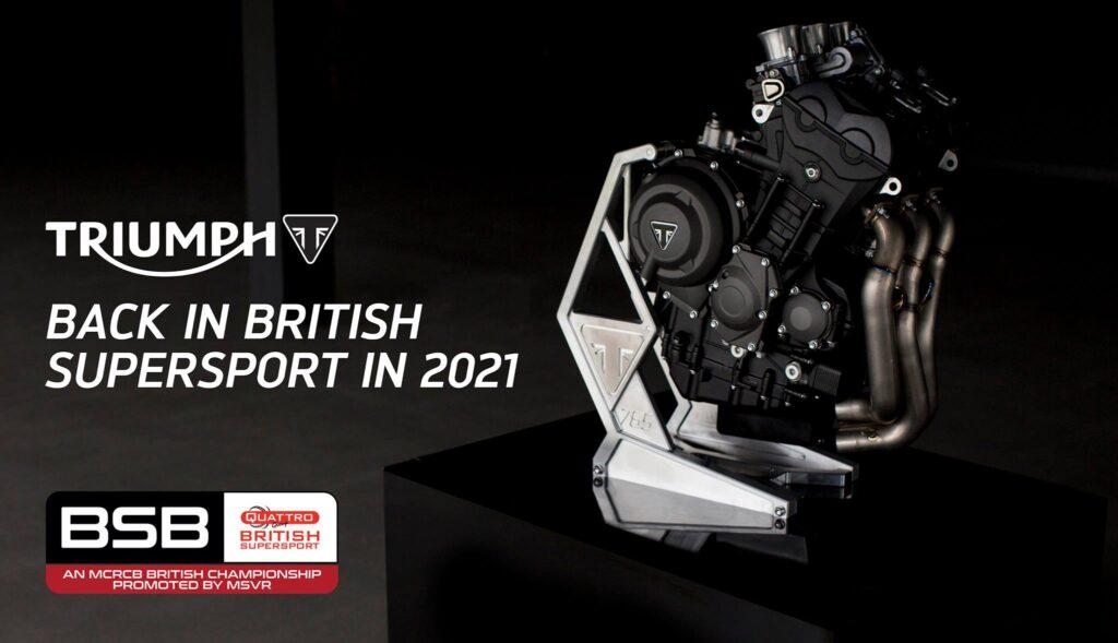 Triumph - PTR Racing British Supersport