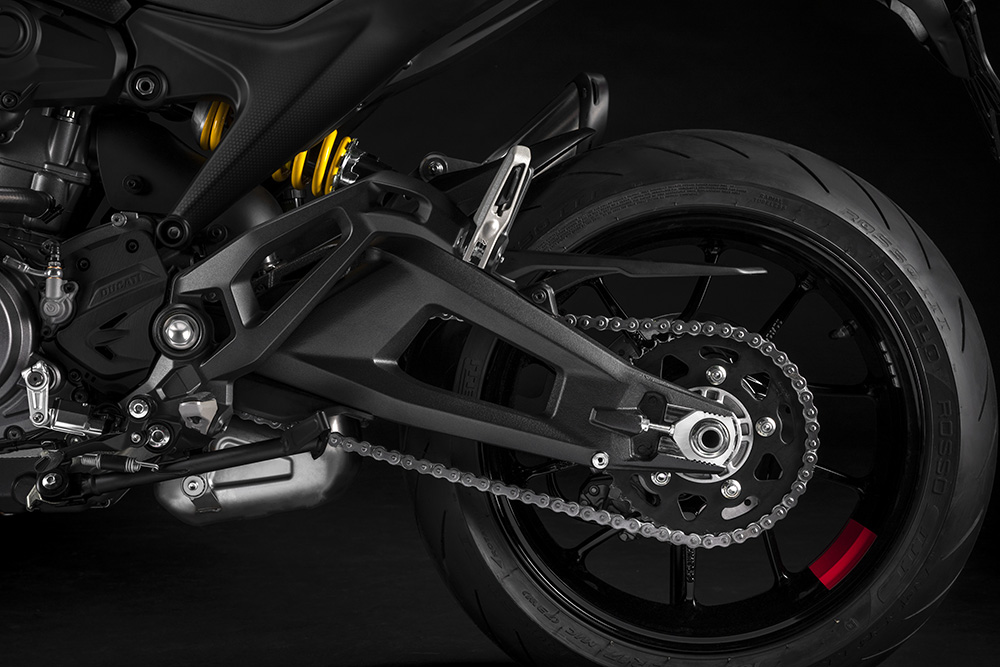 2021 Ducati Monster swingarm