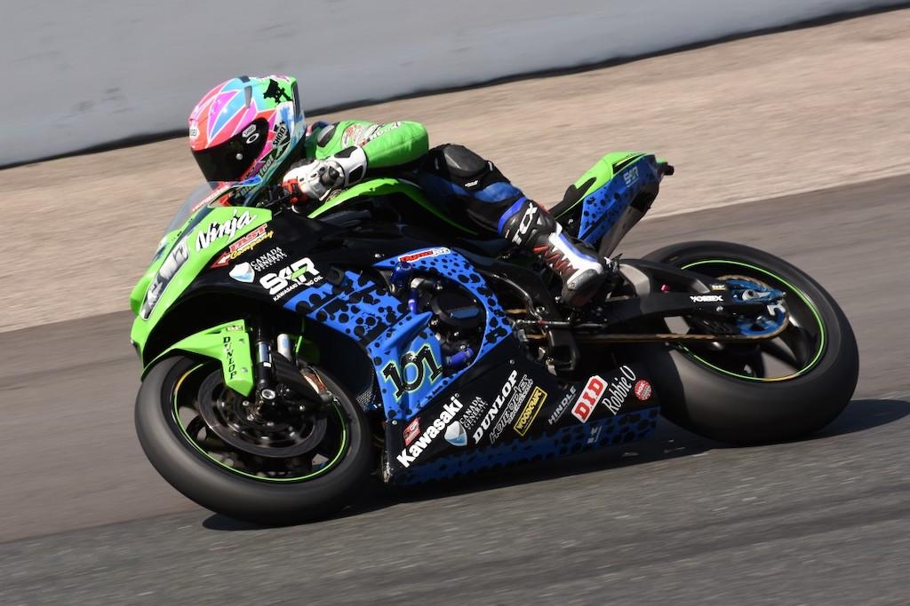 DP Brakes sponsored racer