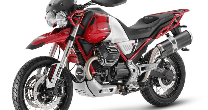 MOTO GUZZI V85 TT – 2021 Adventure and Travel Models