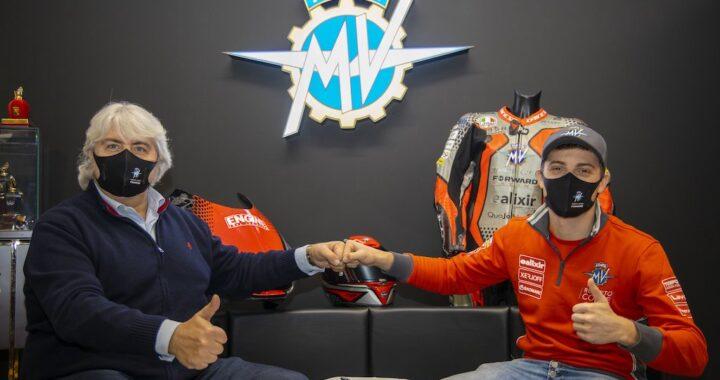 Tommaso Marcon – Recruited by MV Agusta Forward Racing