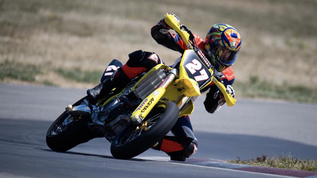 featured rider Trever Johnson