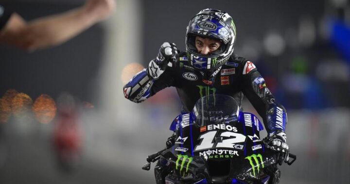 Maverick Vinales Wins the Opening MotoGP Round of 2021