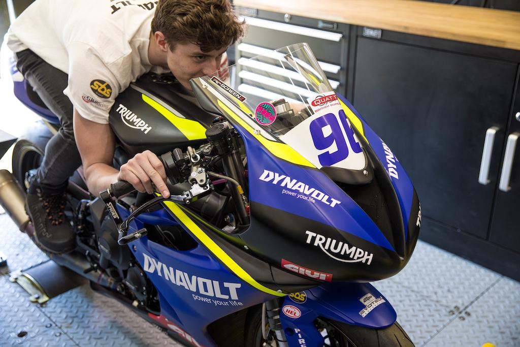 Brandon Paasch Triumph