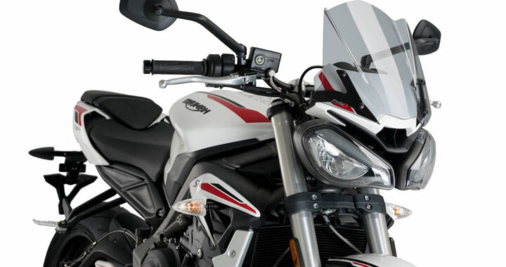 Puig Sport Windshield for the Triumph Street Triple