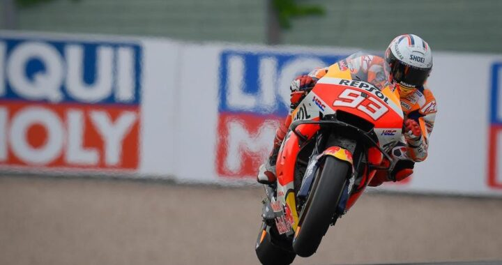 Marc Marquez remains undefeated at the Sachsenring