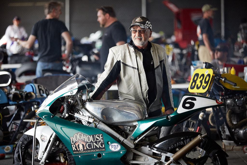 AHRMA Vintage Motorcycle