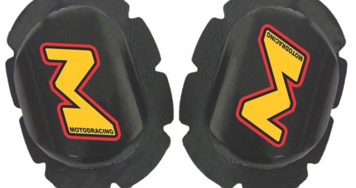 Wooden Knee Puck Sliders from MOTO-D Racing