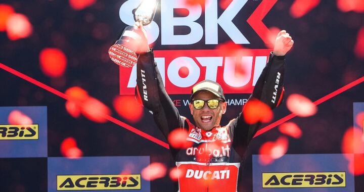 Alvaro Bautista returns to Ducati WorldSBK