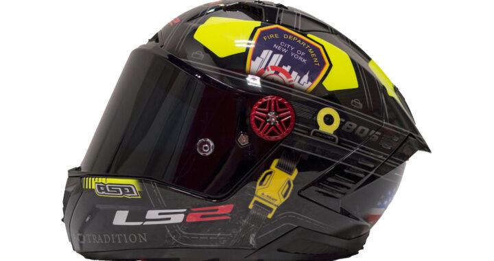 Loris Baz 9/11 Tribute Helmet