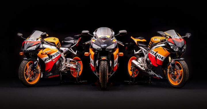 Repsol CBR1000RRs Auctioned for Charity